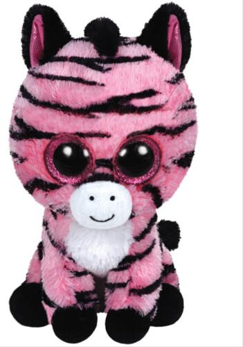 TY Zoey - Zebra pink, 15cm