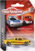Majorette Rettungsfahrzeuge, sortiert