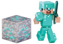 Minecraft Diamant Steve mit Zubehör