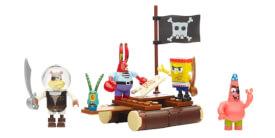 Mattel Mega Bloks SpongeBob Squarepants Pirat