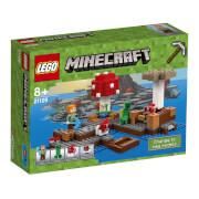 LEGO® Minecraft 21129 Die Pilzinsel, 247 Teile