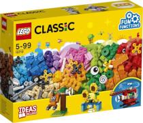 LEGO® Classic 10712 Bausteine-Set Zahnräder, 244 Teile, ab 4 Jahre