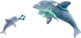 Schleich Bayala - 41463 Delfin-Mama mit Babies, ab 5 Jahre