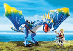 PLAYMOBIL 9247 Dragons Astrid und Sturmpfeil