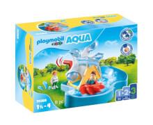 PLAYMOBIL 70268 Wasserrad mit Karussell