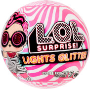 L.O.L. Surprise Lights Glitter Asst in Sidekick