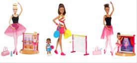 Mattel Barbie  Sportlehrerin, Schülerin und Spiels