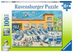 Ravensburger 108671   Puzzle Polizeirevier 100 Teile