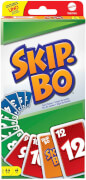 Mattel 523700 Skip-Bo, 2-6 Spieler, ca. 20 min, ab 7 Jahre