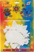 HAMA 4555 Bügelperlen Midi - 3er Set Stiftplatten - Frosch, Drache, Stern, ab 5 Jahren