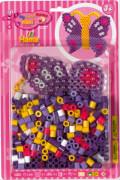 HAMA 8908 Bügelperlen Maxi - Blisterset Schmetterling, 1 Stiftplatte Schmetterling, 250 Bügelperlen, ab 3 Jahren