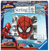 Ravensburger 180325 String it midi Spiderman, Fadenkunst