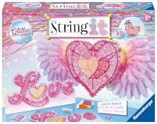 Ravensburger 18065 String it Maxi - 3D Heart