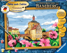 Ravensburger 28913 Malen nach Zahlen Historisches Bamberg