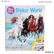 Depesche 10406 Miss Melody Stickerworld, Mal- und Stickern