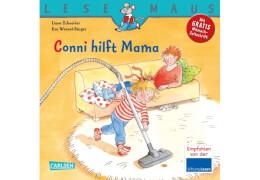 Lesemaus - Band 52: Conni hilft Mama, Taschenbuch, 24 Seiten, ab 3 Jahre