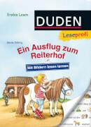 Leseprofi  Mit Bildern lesen lernen: Ein Ausflug zum Reiterhof, Erstes Lesen