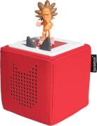 Tonies® Starterset - Toniebox Rot mit Löwe - Die Geschicht vom Löwen, der nich,