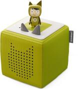 Tonies® Starterset - Toniebox Grün mit Kreativ-Tonie, ab 3 Jahren.