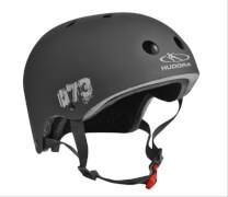 Hudora Skateboarder Helm, Größe 55-58, schwarz