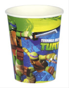 8 Becher Teenage Mutant Ninja Turtles 266 ml