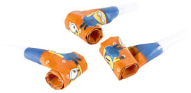 6 Luftrüssel Minions 30 cm