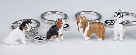Depesche 5999 Doggy Love Schlüsselanhänger -  Hunderassen