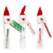 Depesche 10251 Gutschein im Glas mit Weihnachtsmann