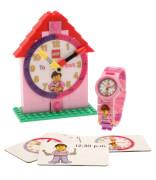 LEGO Time Teacher Girl pink