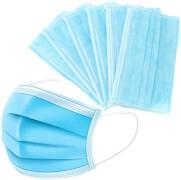 Einweg-Gesichtsmasken, 9 Stk., 3-lagige Einwegmasken mit Gummiband für nicht-medizinsche Zwecke.